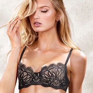 Victoria's Secret Wicked Unlined Uplift Bra NWT